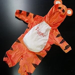 Tigger Halloween Costume 3 to 6 mons - Like New